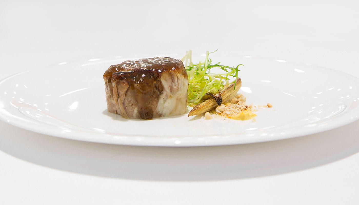 Uno de los platos de la cocina del chef Juan Carlos Ferrando