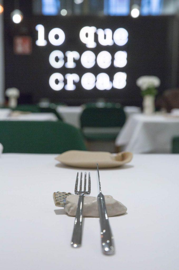 Una de las mesas de nuestro restaurante en Logroño.