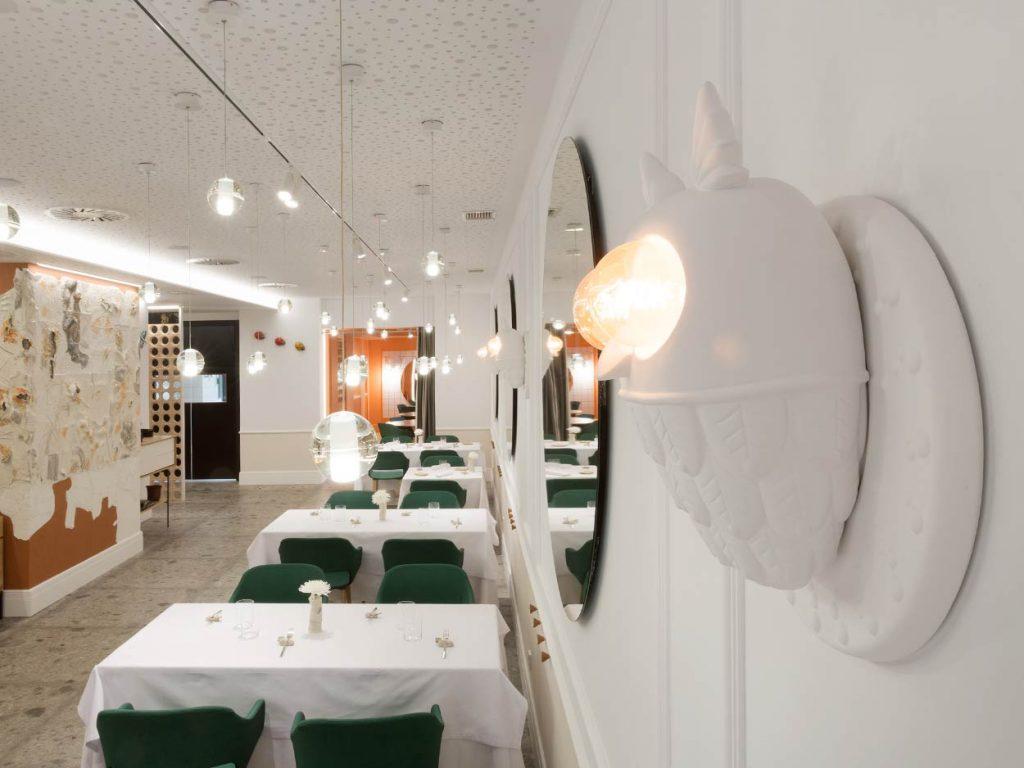 Elementos decorativos del Restaurante Juan Carlos Ferrando